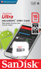 Karta SanDisk Ultra Android microSDHC UHS-I 32GB 80MB/s Class 10 (SDSQUNS-016G-GN3MN)
