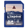 Karta SDHC Kingston 8GB Class 4