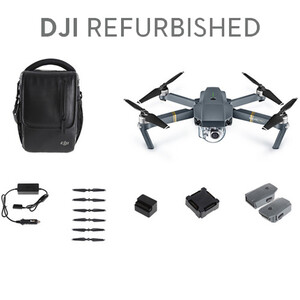 DJI Dron Mavic Pro Combo Refurbished