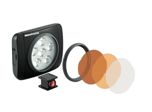 Lampa LED Manfrotto Lumie ART + 3 filtry