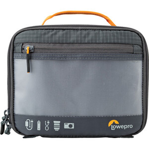 Mała torba Lowepro GEARUP Camera Box Medium Dark Grey
