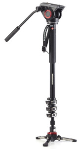 Manfrotto monopod MVMXPRO500 video z głowicą