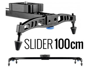 CAMROCK Slider Video VSL100R - 100cm