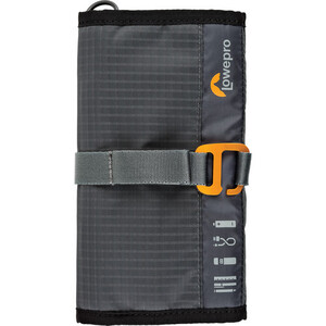 Organizer na kable Lowepro GEARUP Wrap Dark Grey
