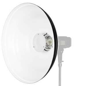 Beauty Dish Quadralite Wave biały 55