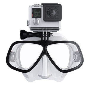 Maska nurkowa Octomask Freediver Clear do GoPro