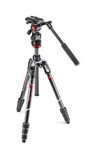 Statyw wideo Manfrotto Befree Live Twist Carbon MVKBFRTC-LIVE