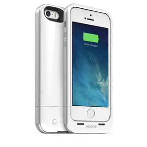 Mophie Juice Pack Air obudowa z baterią do iPhone 5 5s SE biały