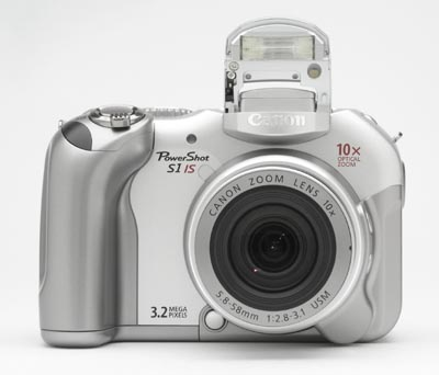 Aparat Canon PowerShot S1 IS S008 1JPG